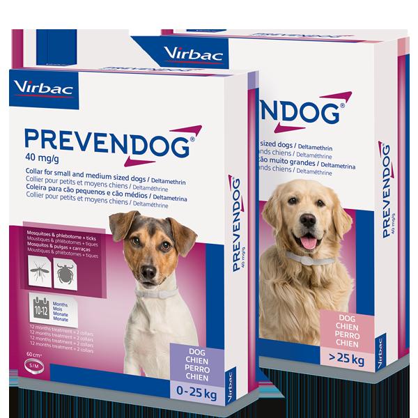 Nova Coleira Antiparasitária Prevendog